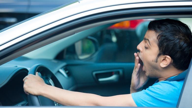 Риски невыспанности при поездках за рулем 1