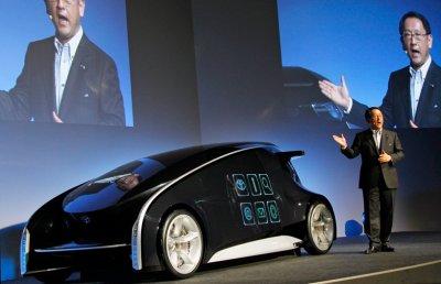 Toyota обещает представить «автомобиль будущего» 1