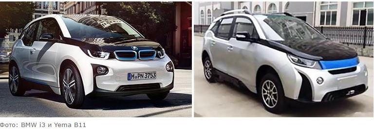 Шесть самых популярных китайских автомобильных клонов 1