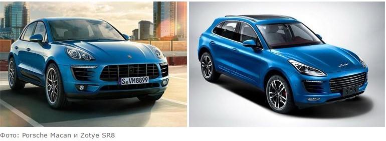 Шесть самых популярных китайских автомобильных клонов 2