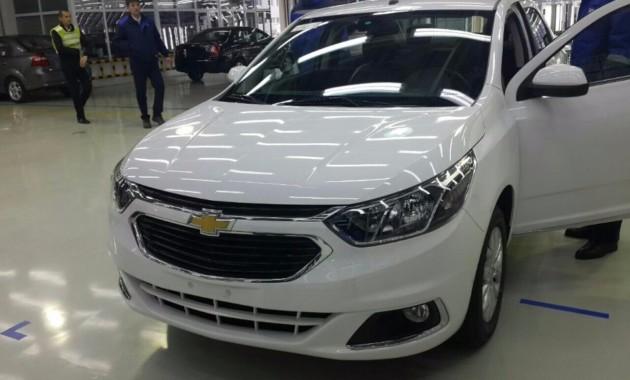 Обновлённый Chevrolet Cobalt будут выпускать в Узбекистане 1