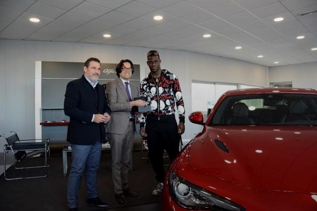 Звездный футболист выбрал Alfa Romeo Giulia Quadrifoglio 1
