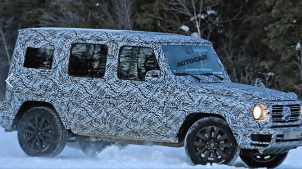 «Заряженные» прототипы нового «Гелендвагена» выпустили на снег 2