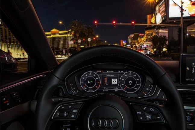 Audi «подключила» свои автомобили к светофорам в Лас-Вегасе 2