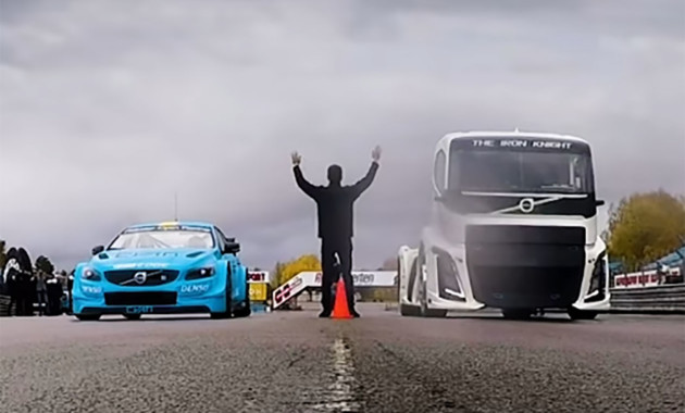 Volvo анонсировал эпичную битву 2