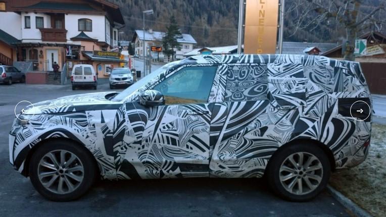 «Загадочный» Land Rover Discovery засекли на трассе 1