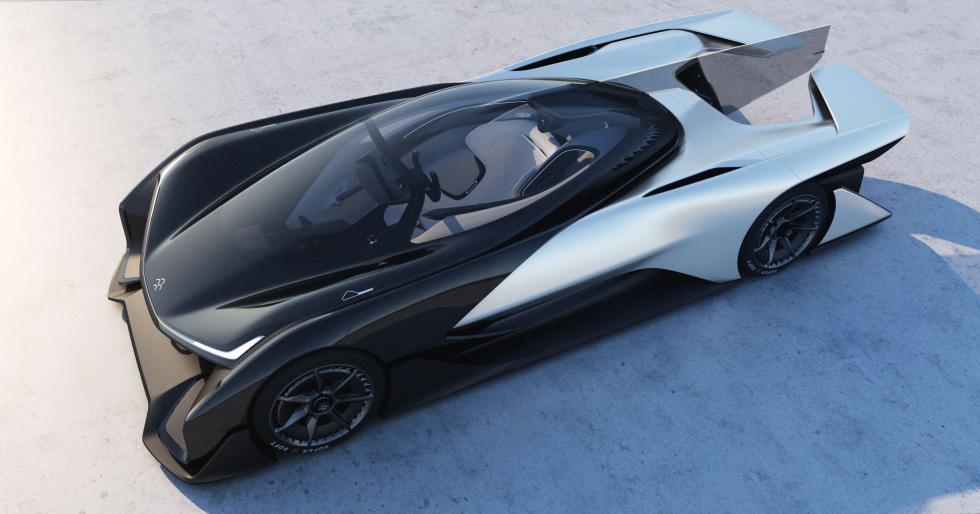 Новый конкурент Tesla - «автомобиль будущего» 2