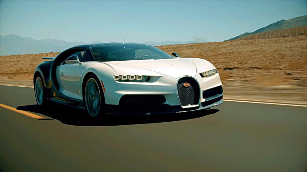 Bugatti Chiron - «первый пошел» 1