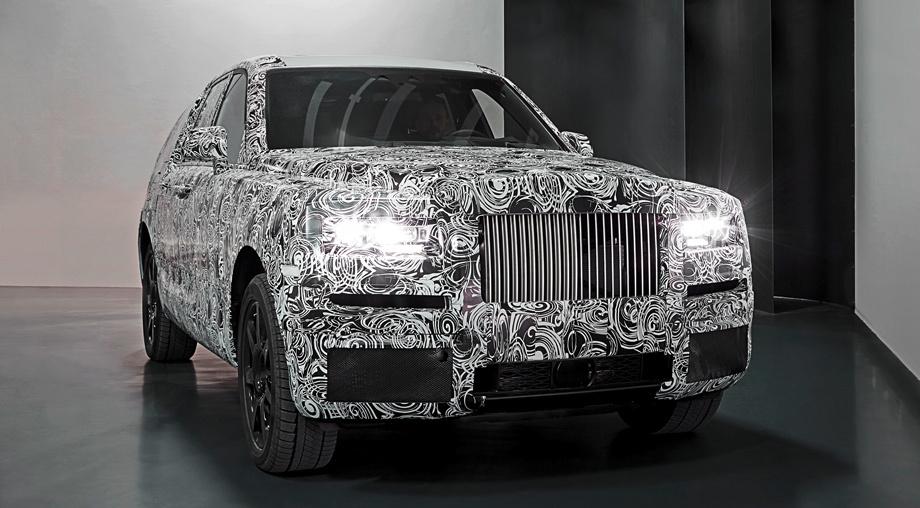 Стала известна стоимость нового кроссовера Rolls-Royce 1