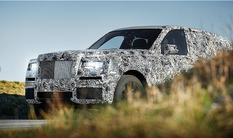 Марка Rolls-Royce показала внедорожник «не для всех» 2
