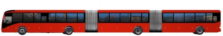 Volvo создаст крупнейший в мире автобус 1