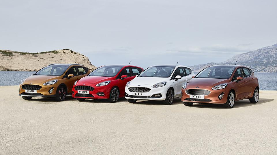 Состоялась презентация обновленной Ford Fiesta 1