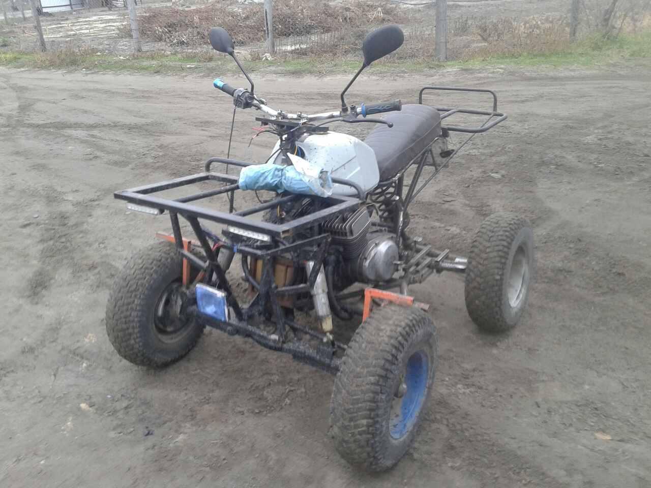Украинец собрал в гараже мощный квадроцикл 3