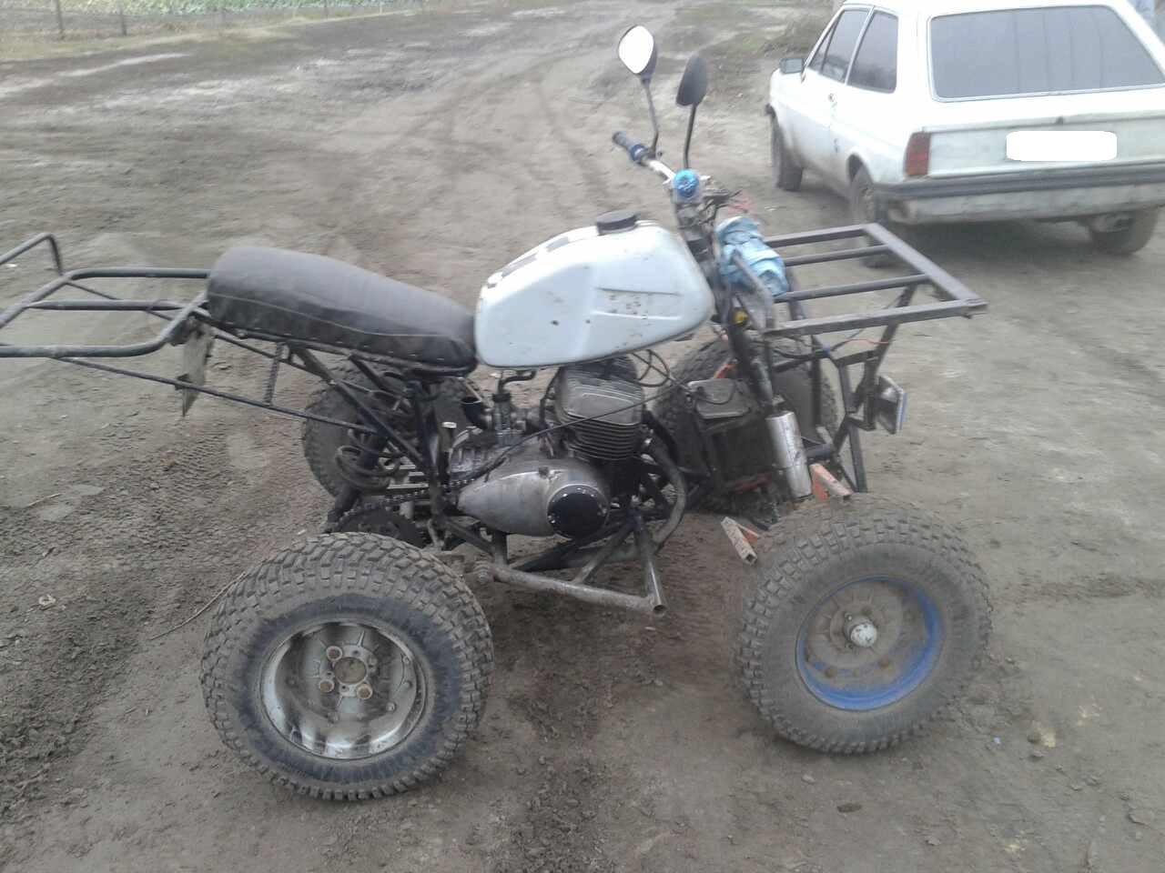 Украинец собрал в гараже мощный квадроцикл 1