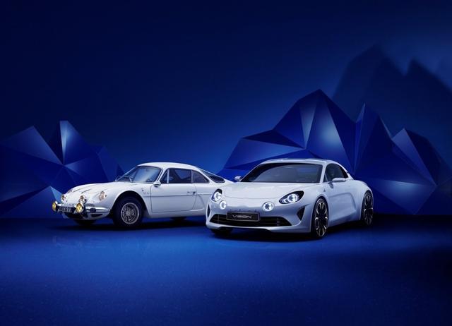 Alpine выпустит две модификации спорткара A120 1
