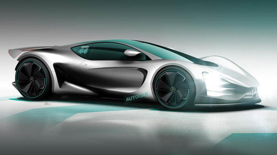 Новую модель Mercedes-AMG раскупили за год до премьеры 1