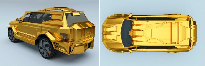 Президенту подарят машину из бриллиантов и рулем за $30 тыс 2