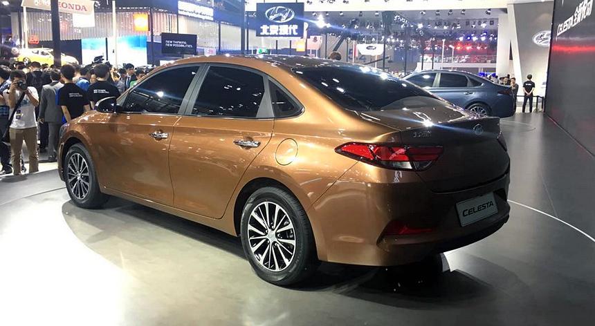 Celesta — новый седан марки Hyundai 2