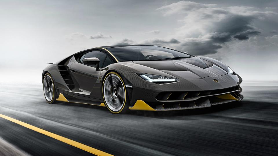 Lamborghini презентует электрический гиперкар 1