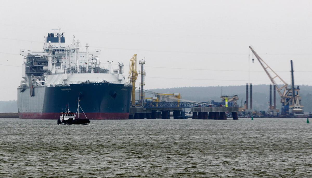 Украина приняла первый танкер со сжиженным газом из Египта 1