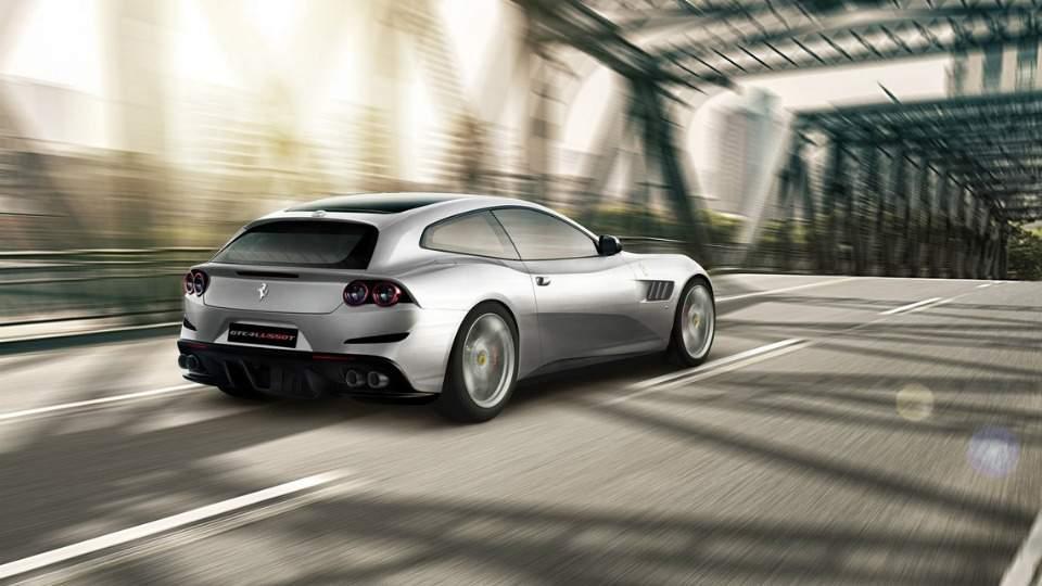 Ferrari презентует четырехместный суперкар с турбодвигателем 2