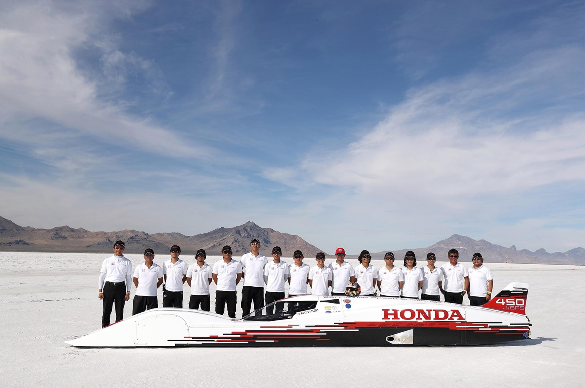 Малолитражную модель с мотором Honda разогнали до 420 км/ч 1