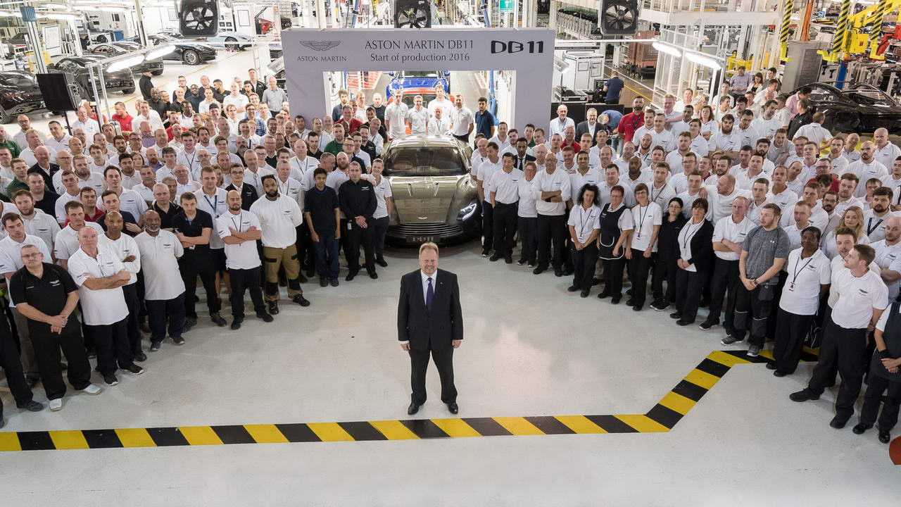 В Британии начали производство «самого ожидаемого автомобиля» 1