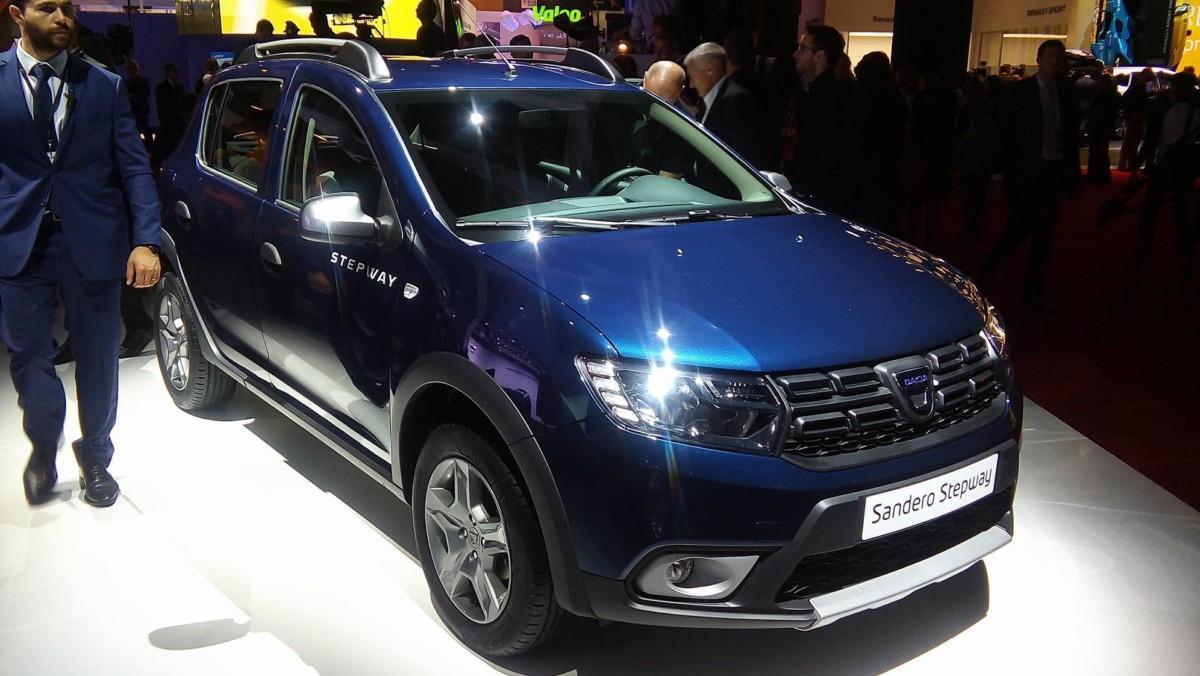 Новые Renault Sandero и Logan показаны в Париже 3