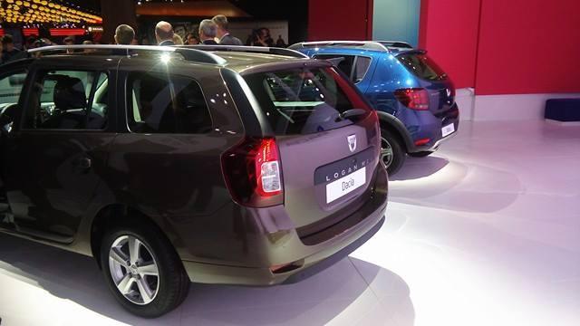 Новые Renault Sandero и Logan показаны в Париже 4