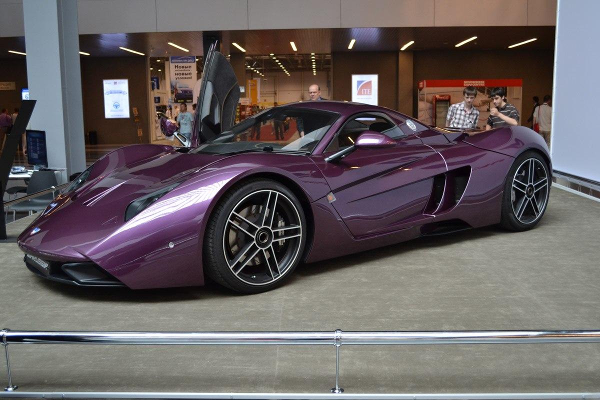 Единственный в городе суперкар Marussia «разлетелся на части» 1
