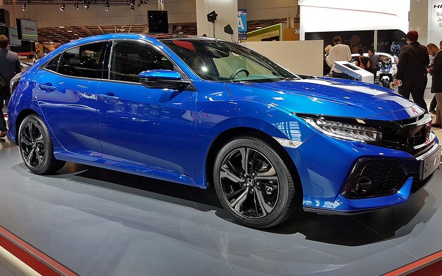 Новое поколение Honda Civic дебютировало в Париже 1