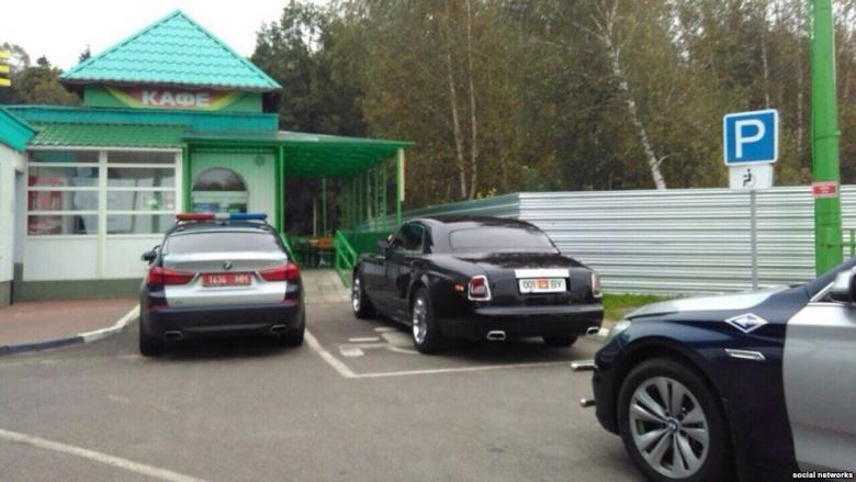 «Батькин» Rolls-Royce - за рулем сам Лукашенко 1