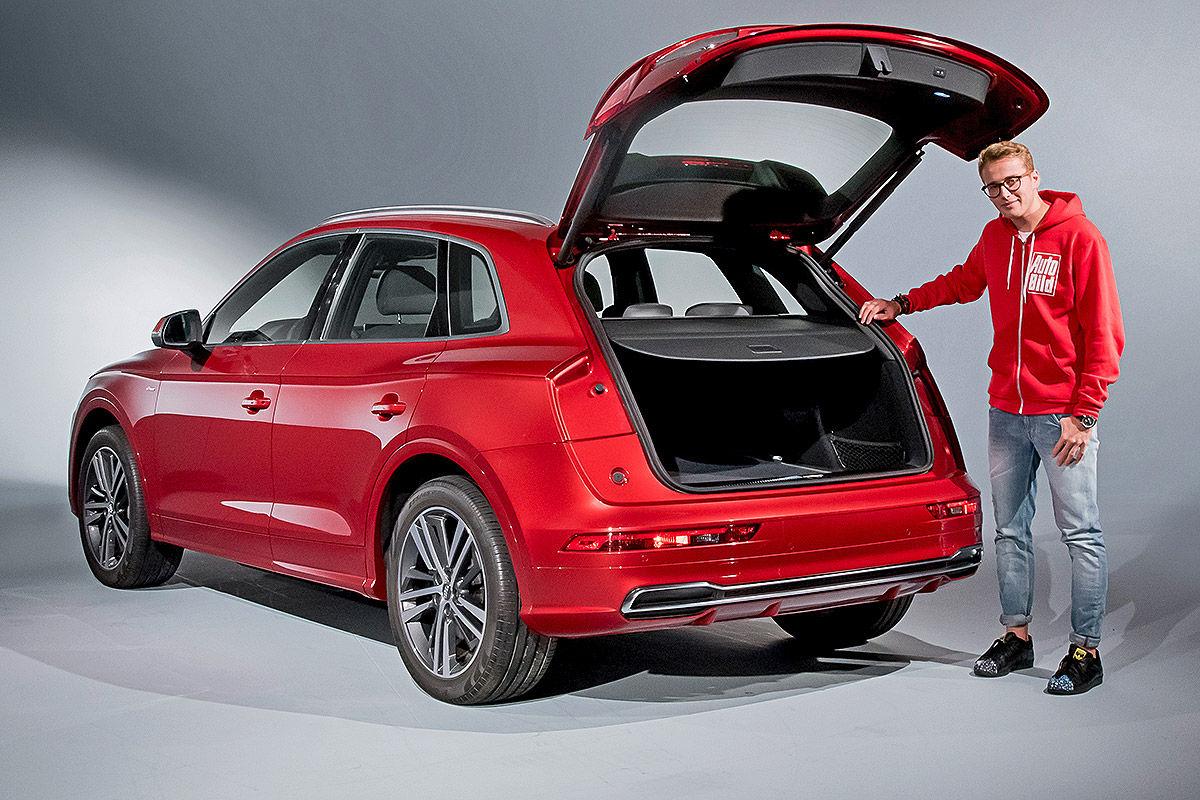 «Обновленный, но не слишком»: тест-драйв Audi Q5 4
