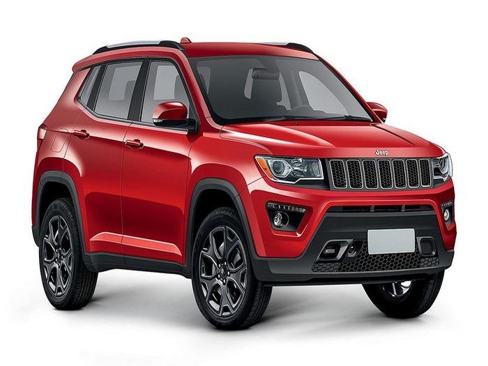 Кроссовер Jeep C-SUV будет представлен через месяц 1