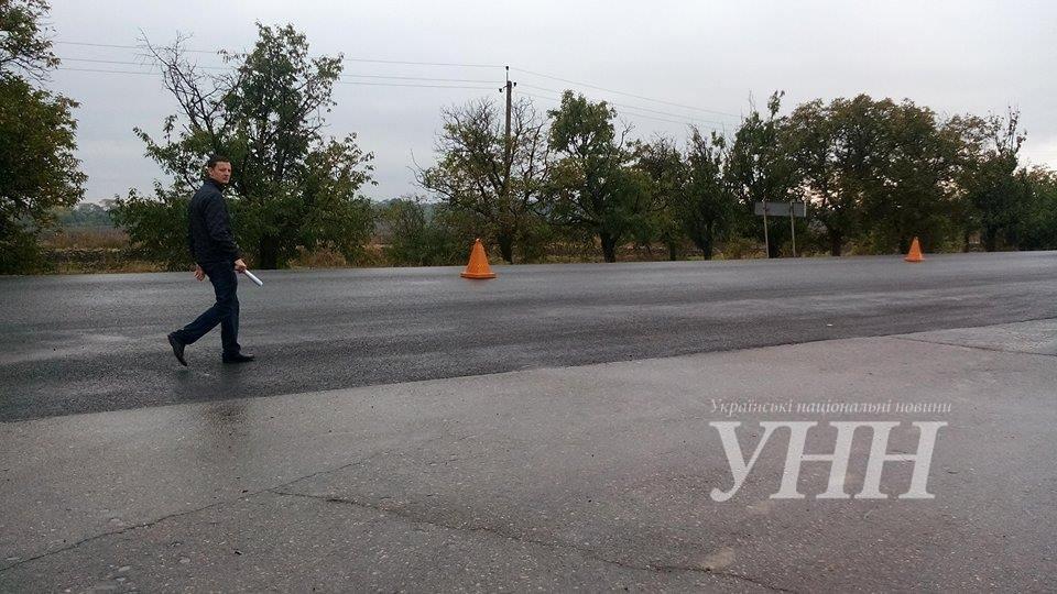 Президент посетил трассу Одесса-Рени 4