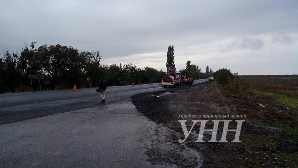 Президент посетил трассу Одесса-Рени 5