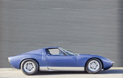 Lamborghini Рода Стюарта выставят на аукцион 1