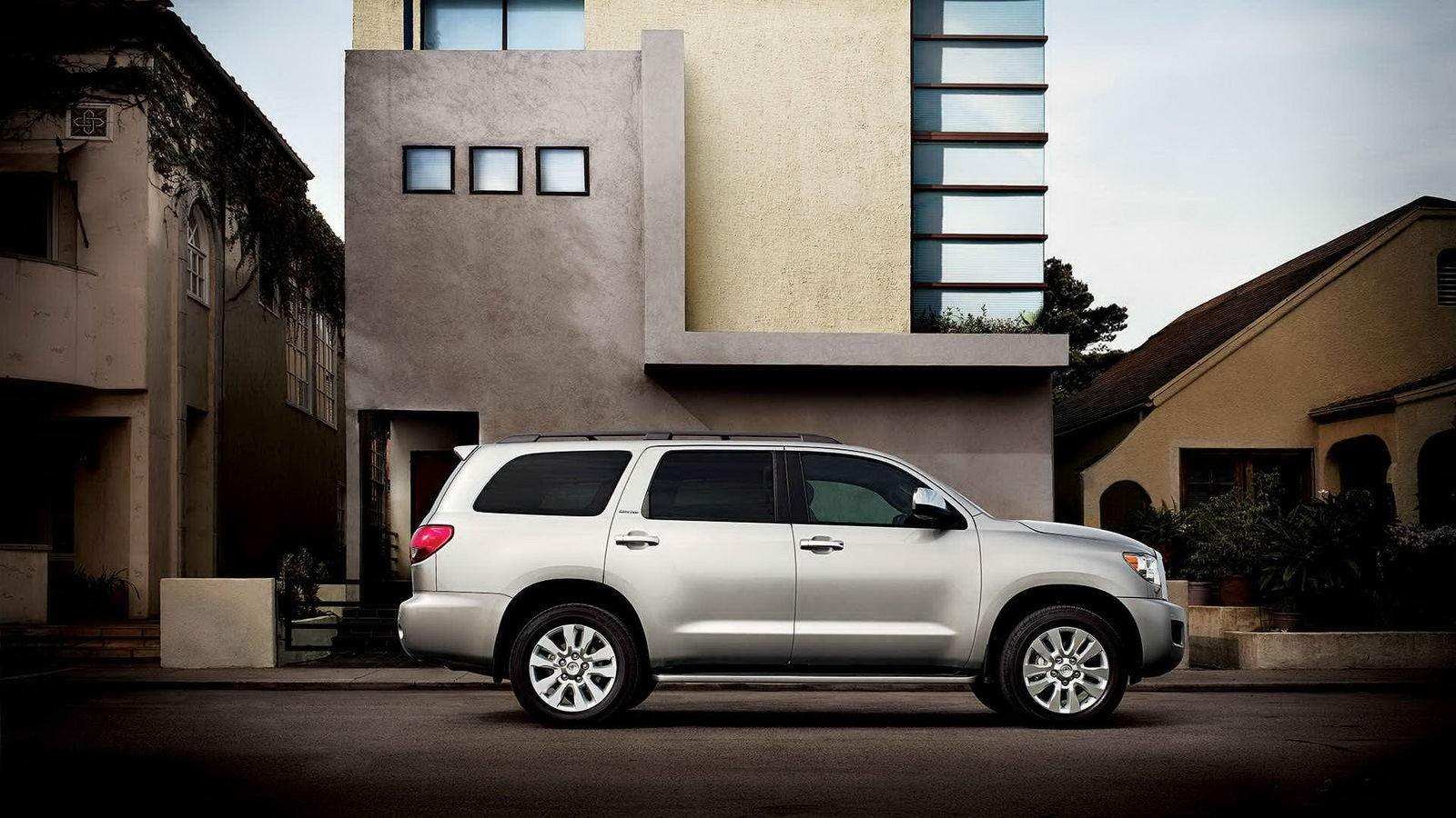 Toyota провела рестайлинг внедорожника Sequoia 1