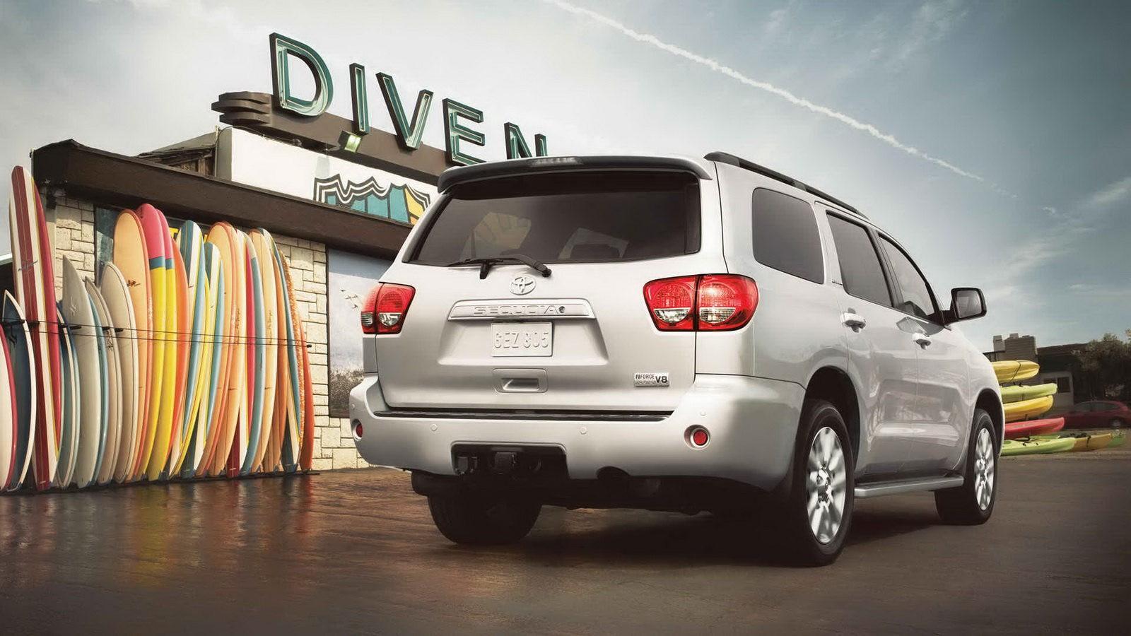 Toyota провела рестайлинг внедорожника Sequoia 2