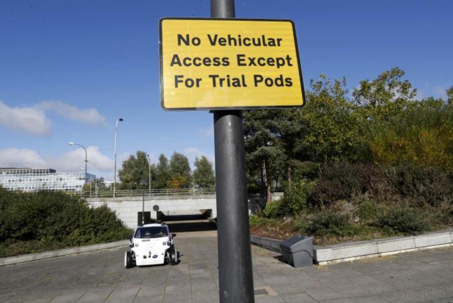 Беспилотные автомобили вышли на улицы Великобритании 2