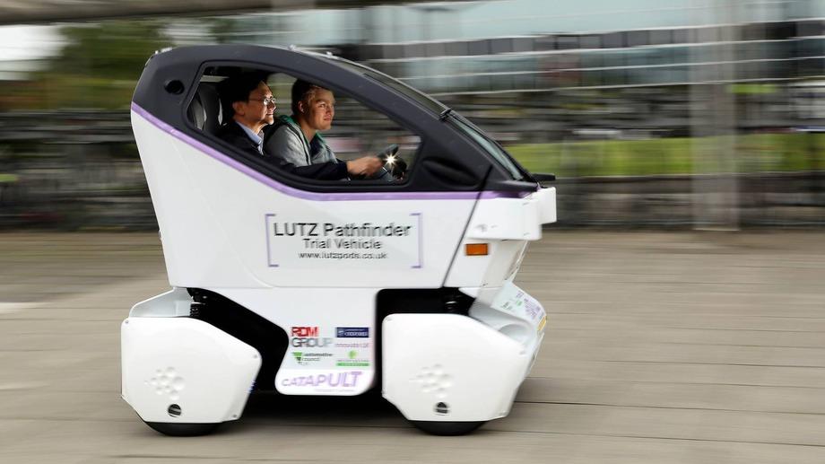 Беспилотные автомобили вышли на улицы Великобритании 1