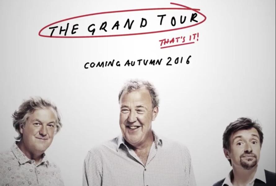 Появился тизер нового автошоу Кларксона Grand Tour 1