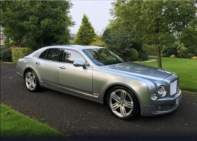 Чиновник выставил на продажу свой Bentley 1
