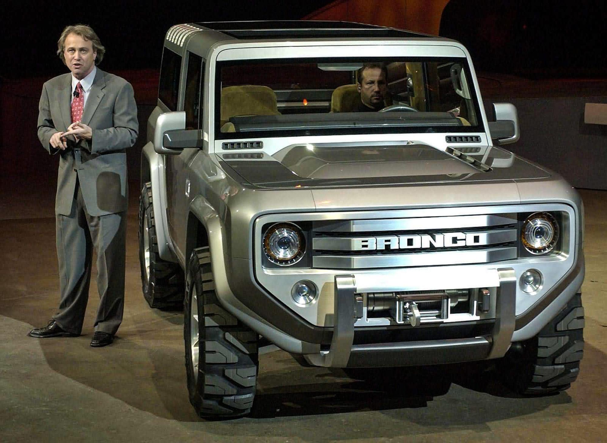 Компания Ford возродит «большой» внедорожник 2