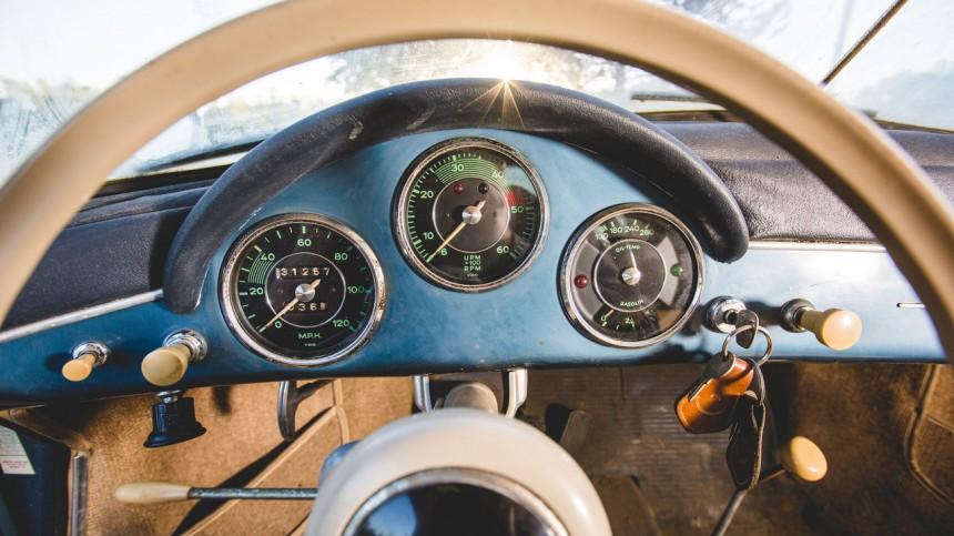 Porsche 1957 года «пустят с молотка» 2