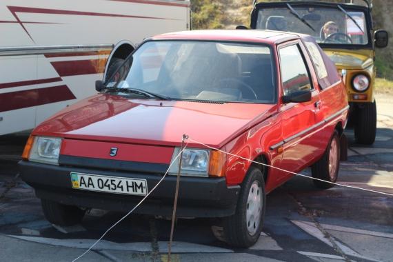 Как выглядит заводская Таврия в кузове кабриолет 1
