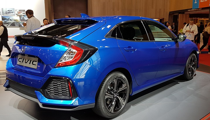 Новое поколение Honda Civic дебютировало в Париже 2
