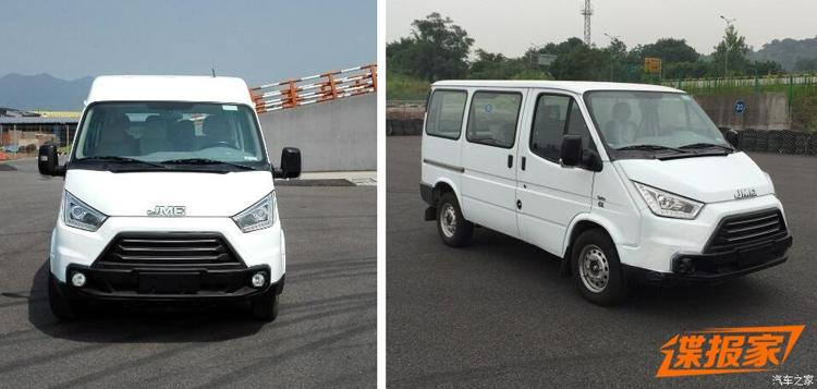 Как выглядит китайская версия Ford Transit 2