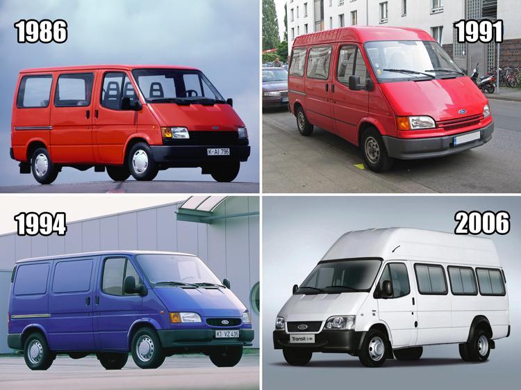 Как выглядит китайская версия Ford Transit 3