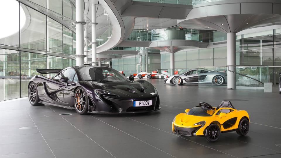 McLaren построил детский суперкар 1